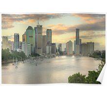 Brisbane, Australia Poster