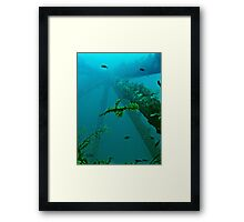 GHOSTS OF THE RIG REEF Framed Print
