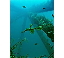 GHOSTS OF THE RIG REEF Photographic Print