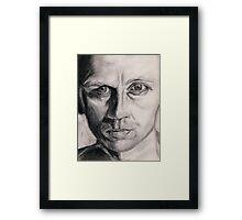 Craggy Face Framed Print