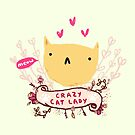 Crazy Cat Lady by Sophie Corrigan