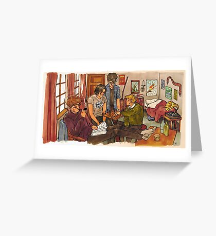 Marauders Greeting Card