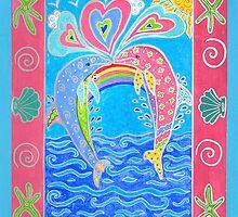 Dolphin Love by happyhArt