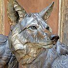 Wolf Statue by DarthIndy