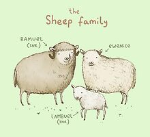 The Sheep Family by Sophie Corrigan