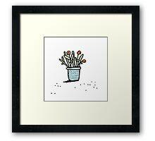 Pretty Plant 2 Framed Print