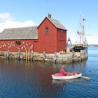 Rowing In Rockport by Jack Ryan