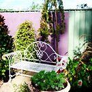 Garden setting in corner at Nursery by EdsMum