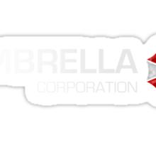 Umbrella Corps - White text Sticker