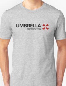 Umbrella Corps - Black text T-Shirt