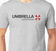 Umbrella Corps - Black text Unisex T-Shirt