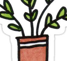 Pretty Plant 1 Sticker