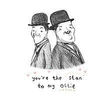 Laurel & Hardy by Sophie Corrigan