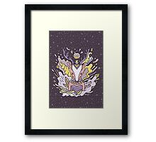 Abstract deer Framed Print