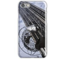 Silver and Blue Planet Earth iPhone Case/Skin