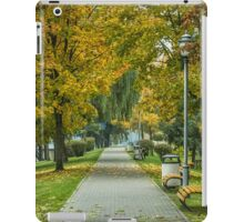 yellow leaves iPad Case/Skin