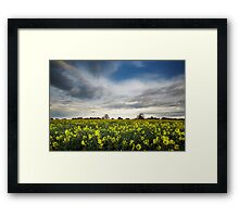 In Through The Out Tree Framed Print