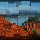 Warners Bay - Hockney style by Robyn Selem