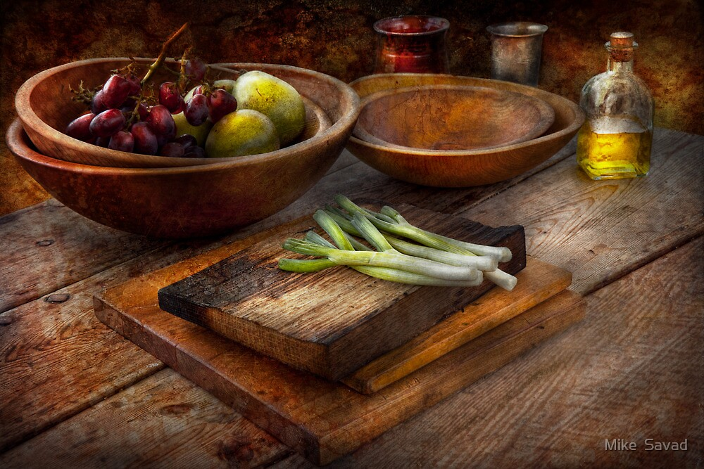 Food - Vegetable - Garden variety by Mike  Savad