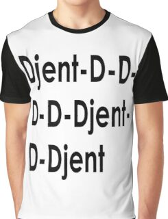 Funny Djent Music Design Graphic T-Shirt