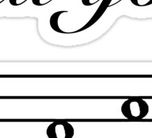 Funny Music Design Sticker