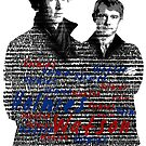 Holmes and Watson - Text by SkinnyJoe