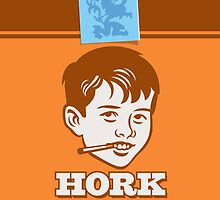 Hork Cigarettes by Billy Davis