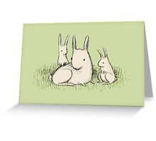 Bunny Family Greeting Card