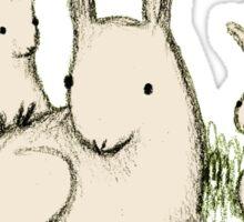 Bunny Family Sticker
