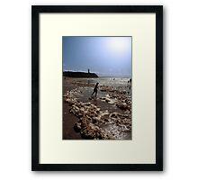 storm foam paddler Framed Print
