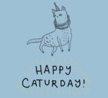 Happy Caturday Kids Tee