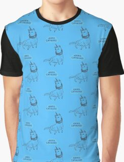 Happy Caturday Graphic T-Shirt