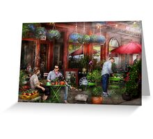 Cafe - Hoboken, NJ - A day out  Greeting Card