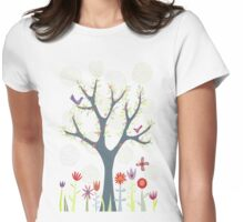 The Garden Womens Fitted T-Shirt