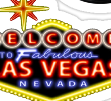 Welcome to Vegas Sticker