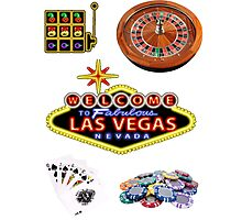 Welcome to Vegas Photographic Print