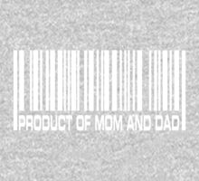 Product of Mom and Dad One Piece - Long Sleeve