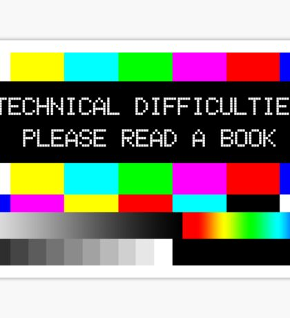 Please read a book Sticker