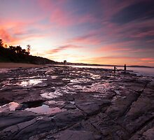Autumn's Sky Fishermans Beach Collaroy NSW by MiImages