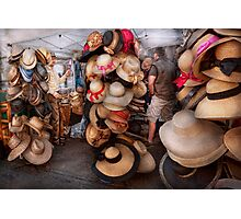 Storefront - The hat stand  Photographic Print