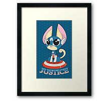 Captain Amewrica Framed Print