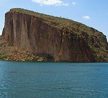 Mesa at Canyon Lake AZ  by John  Kapusta
