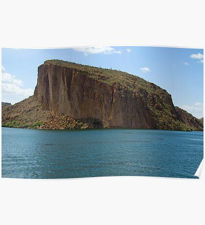 Mesa at Canyon Lake AZ  Poster