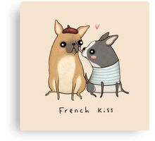 French Kiss Canvas Print