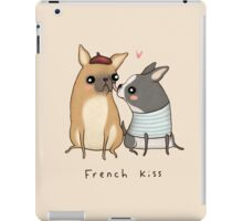 French Kiss iPad Case/Skin