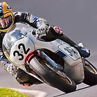 Classic motorbike racing. Bike 32. by Kit347