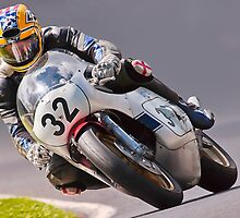 Classic motorbike racing. Bike 32. by Kit347