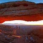 Sunrise at Mesa Arch, Canyonlands by FranJ