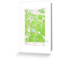 USGS Topo Map Washington State WA East Olympia 240927 1959 24000 Greeting Card