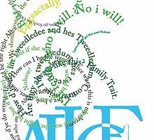 Alice in Wonderland by Daniii